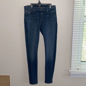 Hudson Super Skinny Blue Jeans-In Women